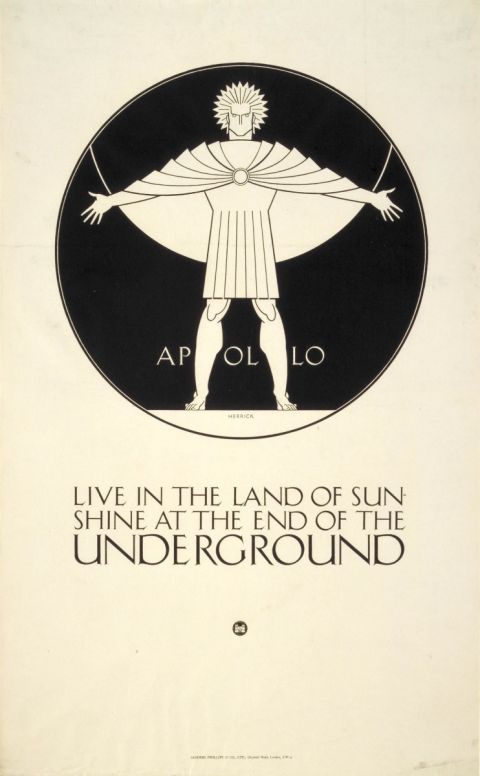 Live in the land of sunshine; Apollo, by Frederick Charles Herrick, 1921