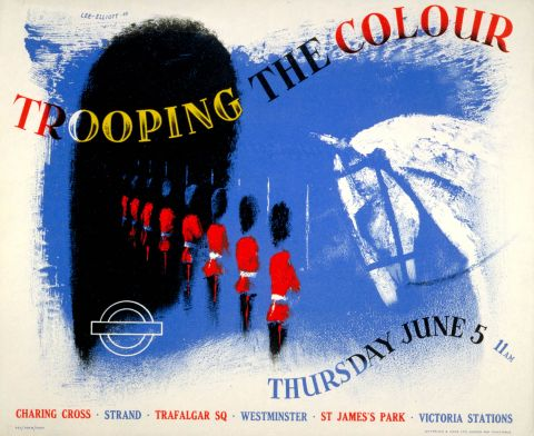 Trooping the Colour, by Theyre Lee-Elliott, 1952