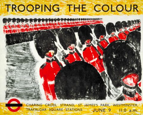 Trooping the Colour, by Stephen Green, 1955