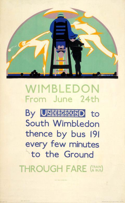 Wimbledon from June 24th, by F H Warren, 1929