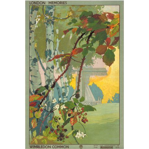 London memories; Wimbledon Common, by Emilio Camilio Leopoldo Tafani, 1918