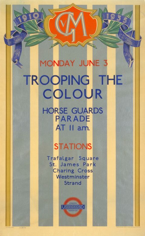 Trooping the Colour, by Harold Stabler, 1935