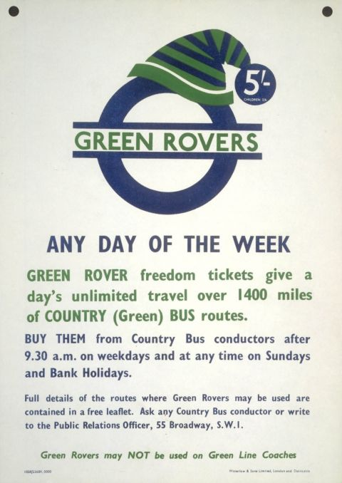 Green Rovers any day of the week, unknown, 1958