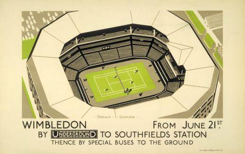 Wimbledon, by Gerald Dickson, 1926