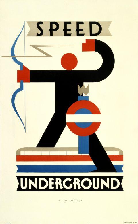 Speed Underground, by Alan Rogers, 1930