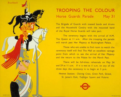 Trooping the Colour, by Bruce Roberts, 1956