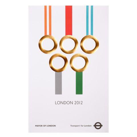London 2012 Bronze Medals Poster