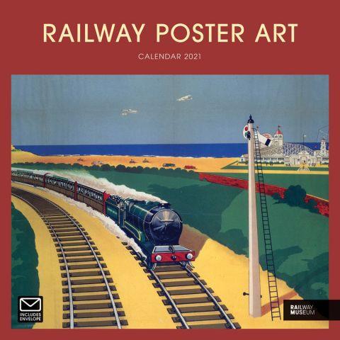 National Railway Museum Poster Art Wall Calendar 2021