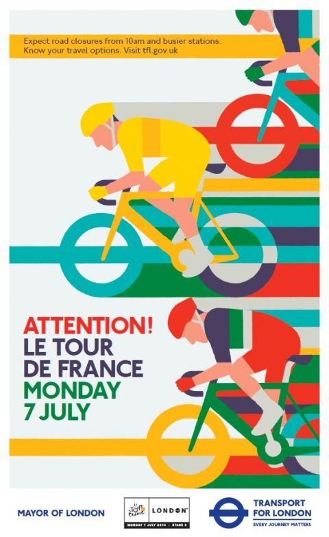 Le Tour de France Side Poster
