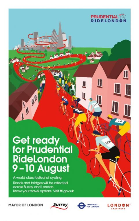 Prudential Ride London Poster