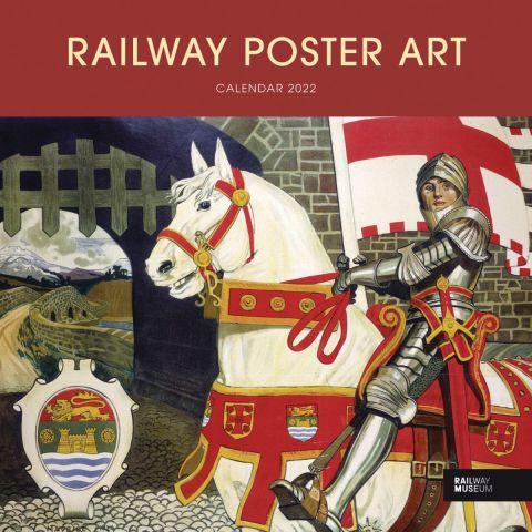 National Railway Museum calendar 2022 - Railway poster art