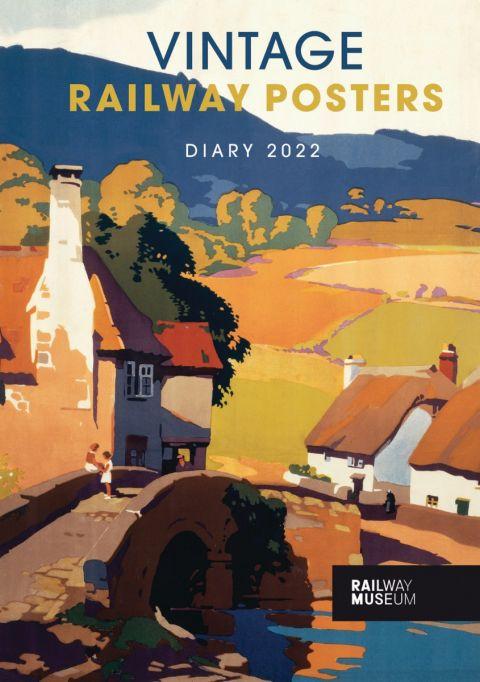National Railway Museum diary 2022 - Vintage railway posters