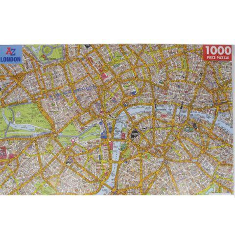 London A-Z Map Puzzle