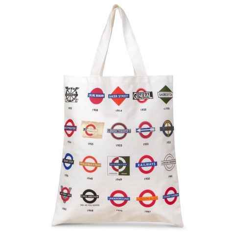 History of the Roundel Canvas Bag