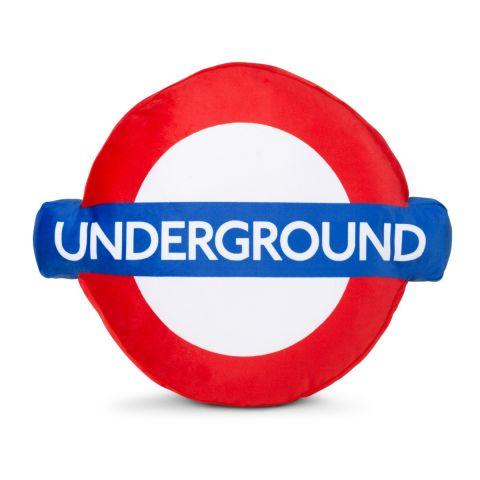 Underground Roundel Cushion