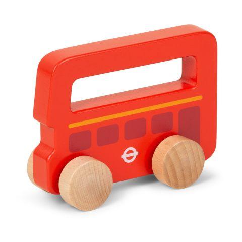 Push Along Wooden Bus