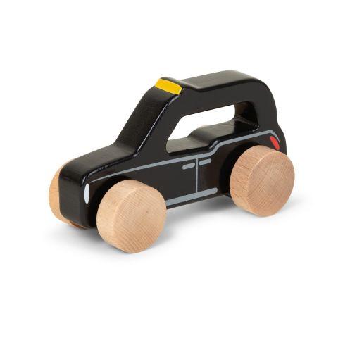 Push Along Wooden Taxi