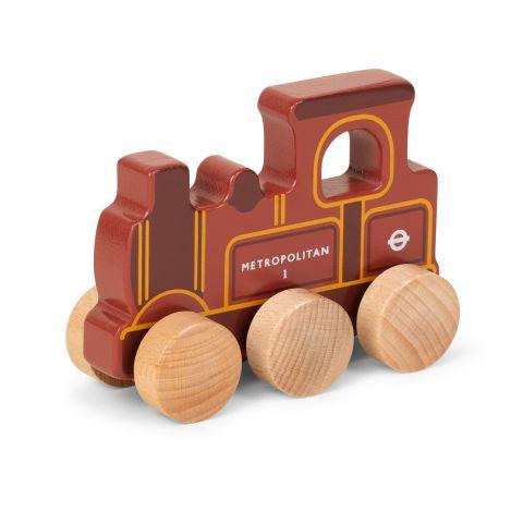 Push Along Wooden Train