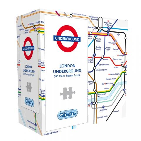500 Piece Jigsaw Underground Map
