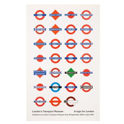 Logo For London D/R/E193 Poster