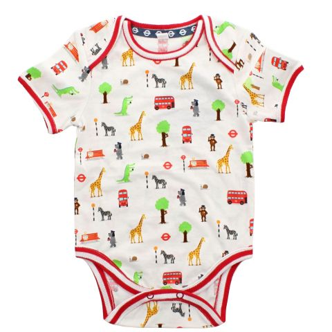All Aboard Baby Vest