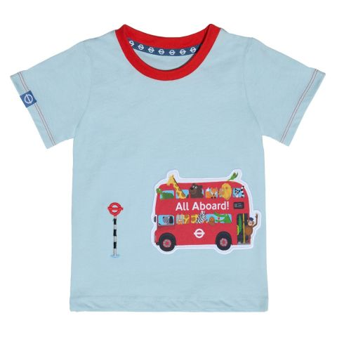 All Aboard Toddlers T-Shirt