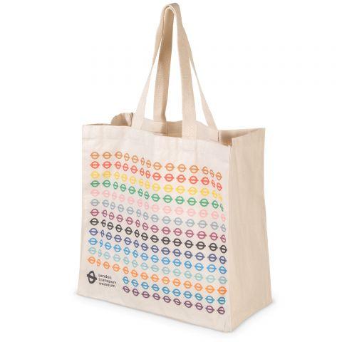 Multi Colour Roundel Bag for Life