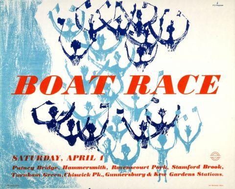 Boat Race, by K G Chapman, 1950