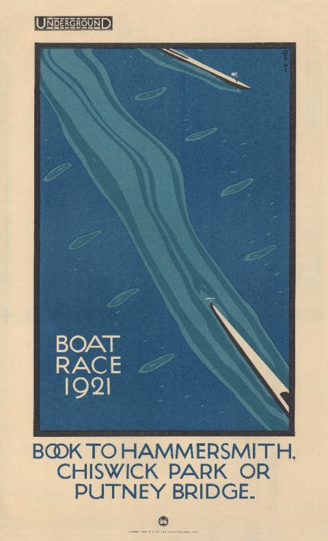 Boat Race by Charles Paine, 1921