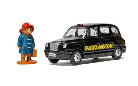 Corgi Paddington Black Taxi Toy