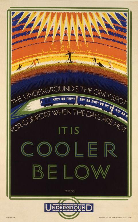 It Is Cooler Below, by Frederick Charles Herrick, 1926