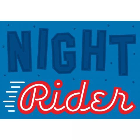 Night Rider Crispin Finn poster