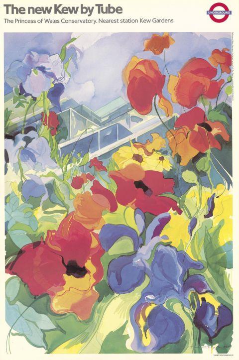The new Kew by Tube, by Jennie Tuffs, 1987