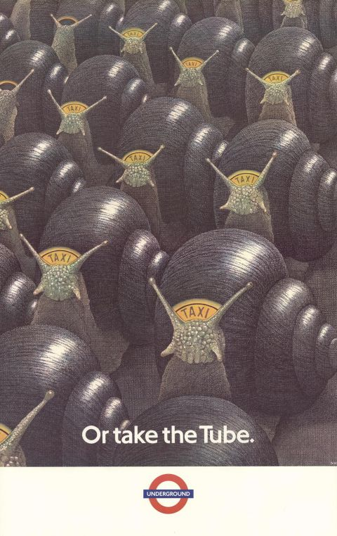 Or take the Tube, by Nick Hardcastle, 1987.