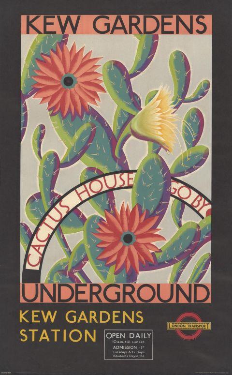 Kew Gardens, by Kraber (John Rowland Barker), 1935