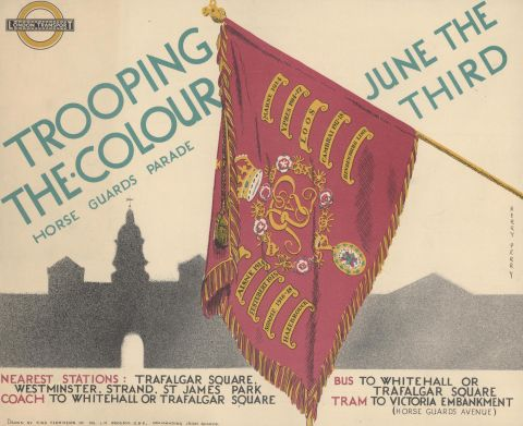 Trooping the Colour, by Herry Perry, 1935