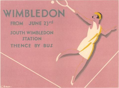 Wimbledon, by Charles Burton, 1930