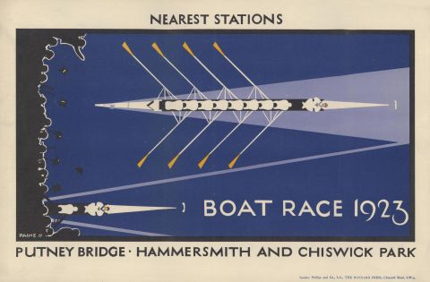 Boat Race 1923, by Charles Paine, 1923