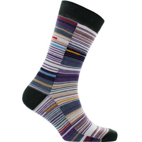 Elizabeth Line Moquette Socks