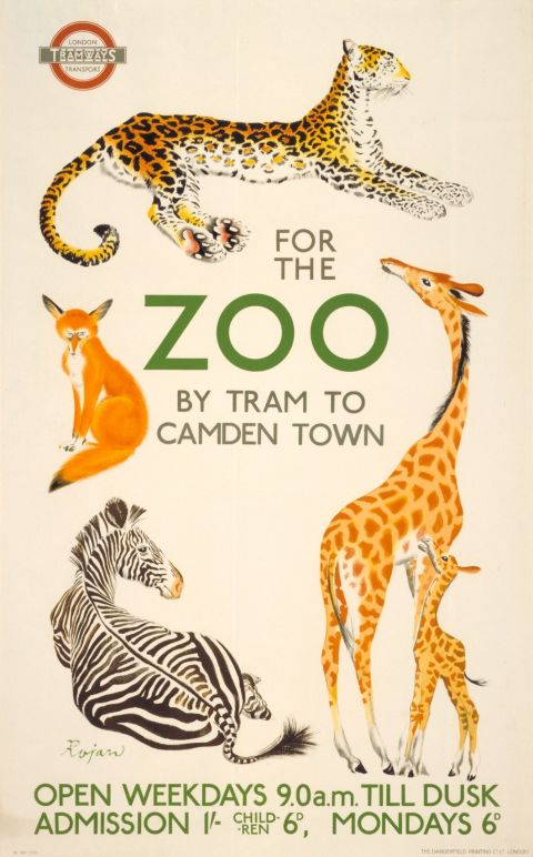 For the Zoo 30x40 print