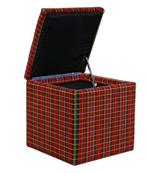 Moquette Hinged Cube
