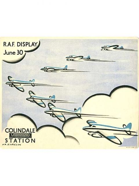 RAF display, Anna Katrina Zinkeisen, 1934