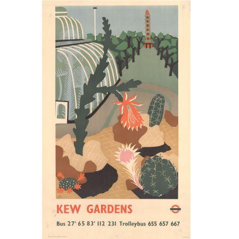 Kew Gardens by Edward Bawden, 1939