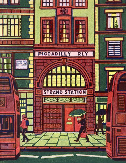 Hidden London Aldwych Station