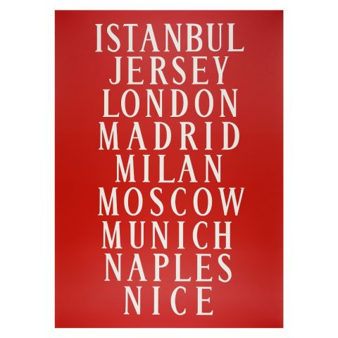 Bus blind poster Istanbul