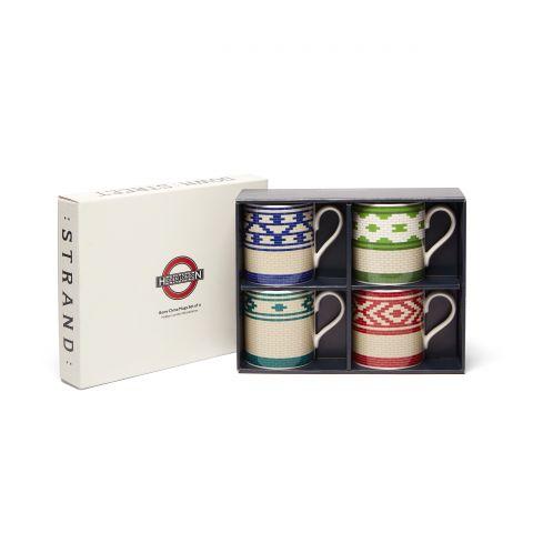 Hidden London Set of 4 Mugs
