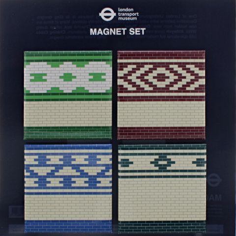 Hidden London Tiles Magnet Set