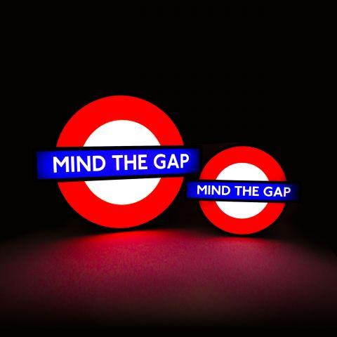 Mini London Underground Lightbox