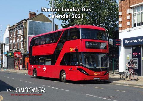 London Bus Calendar 2021