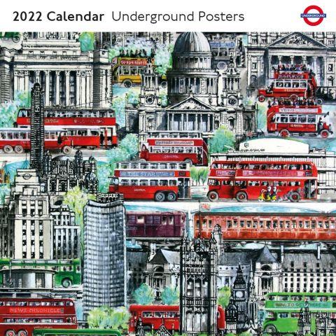 Underground posters calendar 2022